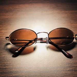 Other - Brand new oval sunglasses   Brown Tint Buffs